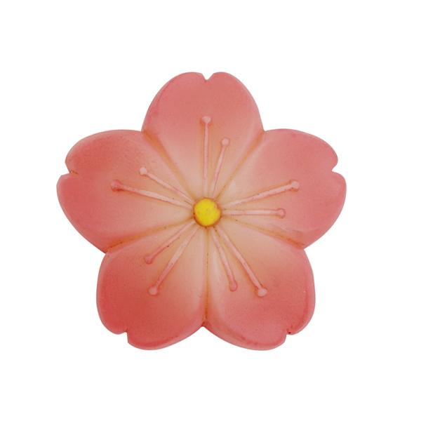 【練切和菓子帯留め-桜】